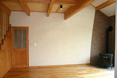 木の階段のある家4