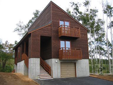 木の階段のある家5