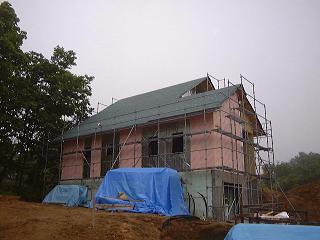 大きなテラスのある家12
